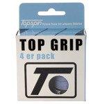 Owijki tenisowe TOPSPIN TOP GRIB 4er pack blue