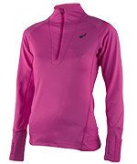 bluza do biegania damska ASICS LONG SLEEVE WINTER 1/2 ZIP / 126254-0692