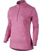 bluza do biegania damska NIKE ELEMENT HALF ZIP / 685910-616