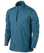 bluza do biegania męska NIKE DRI-FIT ELEMENT HALF ZIP / 683485-459