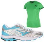 buty do biegania damskie MIZUNO WAVE ADVANCE + koszulka GRATIS / J1GF144930