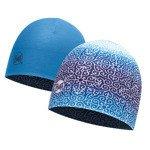 czapka dwustronna do biegania BUFF COOLMAX REVERSIBLE HAT BUFF DHARMA BLUE / 113677.707.10