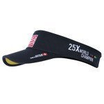 daszek biegowy COMPRESSPORT VISOR CAP BLACK CHINA ORIGIN 25XWORLD CHAMPION / RACS-0030