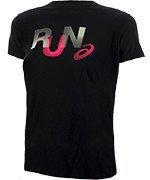 koszulka do biegania damska ASICS GRAPHIC SHORT SLEEVE TOP / 134105-9044