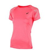 koszulka do biegania damska ASICS STRIPE SHORT SLEEVE TOP / 141224-6039