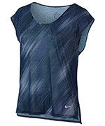 koszulka do biegania damska NIKE BREATHE TOP SHORT SLEEVE COOL / 831877-429