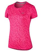 koszulka do biegania damska NIKE PRONTO MILER CREW / 719545-639