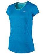 koszulka do biegania damska NIKE RACER SHORT SLEEVE / 645443-435