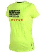 koszulka do biegania damska REEBOK ONE SERIES SHORT SLEEVE TEE / AJ0396