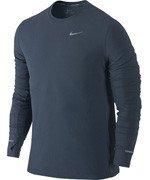 koszulka do biegania męska NIKE DRI-FIT CONTOUR LONGSLEEVE / 683521-460