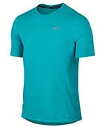 koszulka do biegania męska NIKE DRI-FIT COOL MILER SHORT SLEEVE / 718348-418