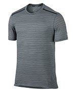 koszulka do biegania męska NIKE DRI-FIT COOL TAILWIND STRIPE SHORT SLEEVE  / 724809-065