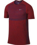 koszulka do biegania męska NIKE DRI-FIT KNIT SHORT SLEEVE / 717758-406