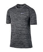 koszulka do biegania męska NIKE DRI-FIT KNIT TOP SHORT SLEEVE / 833562-010
