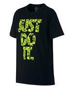 koszulka sportowa chłopięca NIKE DRY TRAINING TEE JUST DO IT / 862665-010