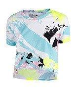 koszulka sportowa damska PUMA ARCHIVE LOGO CROPPED TEE / 572482-57