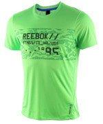 koszulka sportowa męska REEBOK WORKOUT READY GRAPHIC TECH TOP / AJ2906