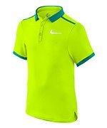 koszulka tenisowa chłopięca NIKE ADVANTAGE SOLID POLO  / 724435-702