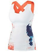 koszulka tenisowa damska HEAD VISION GRAPHIC TANK / 814237 WHCO
