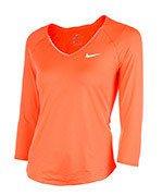 koszulka tenisowa damska NIKE PURE TOP / 728791-877