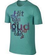 koszulka tenisowa męska NIKE CONTENDER LOUD TEE / 705166-405