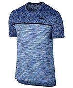 koszulka tenisowa męska NIKE COURT DRY CHALLENGER TOP SHORT SLEEVE / 830907-452