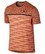 koszulka tenisowa męska NIKE COURT DRY CHALLENGER TOP SHORT SLEEVE / 830907-867