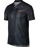 koszulka tenisowa męska NIKE DRY ADVANTAGE POLO SHORT SLEEVE US OPEN 2017 / 854605-010