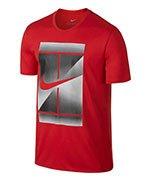 koszulka tenisowa męska NIKE DRY TENNIS TEE / 871732-653
