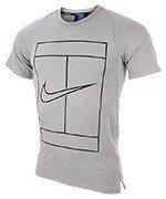 koszulka tenisowa męska NIKE DRY TOP BASELINE / 830925-100