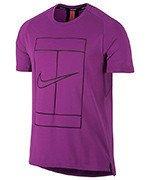 koszulka tenisowa męska NIKE DRY TOP BASELINE / 830925-584