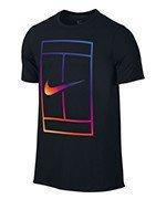 koszulka tenisowa męska NIKE IRRIDESCENT COURT TEE / 803880-010