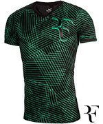 koszulka tenisowa męska NIKE RF TEE ALLOVER PRINTED / 831466-010