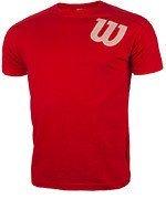 koszulka tenisowa męska WILSON CORE COTTON ANGLED TEE / WRE200012