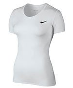 koszulka termoaktywna damska NIKE PRO COOL SHORT SLEEVE / 725745-100