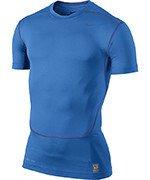 koszulka termoaktywna męska NIKE PRO COMBAT CORE COMPRESSION SHORTSLEEVE TOP / 449792-407