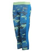 legginsy damskie 3/4 REEBOK WORKOUT READY PRINTED CAPRI / AP4300
