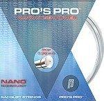 naciąg tenisowy PRO'S PRO NANO CYBER POWER SILVER 12M