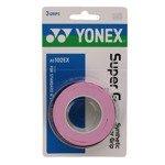 owijka tenisowa YONEX X3 SUPER GRAP PINK / AC102EX