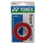 owijka tenisowa YONEX X3 SUPER GRAP RED / AC102EX