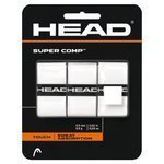 owijki tenisowe HEAD SUPER COMP X3 WHITE / TOH-022