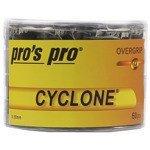 owijki tenisowe PRO'S PRO CYCLONE GRIP 0,50MM OVERGRIP x60 / TOPP-097