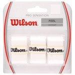 owijki tenisowe WILSON PRO OVERGRIP SENSATION x3 / WRZ4010WH
