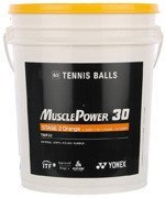 piłki tenisowe YONEX MUSCLE POWER 30 STAGE 2 ORANGE X60 SZT. WIADRO / TPY-005