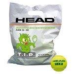 piłki tenisowe worek HEAD 72B TIP GREEN POLYBAG - 72 sztuki / 578280