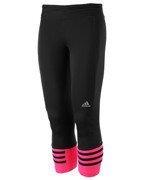 spodnie do biegania damskie ADIDAS RESPONSE 3/4 TIGHTS / AI8292