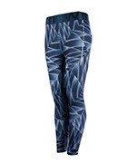 spodnie do biegania damskie NEWLINE IMOTION PRINTED 7/8 TIGHTS / 70186-386