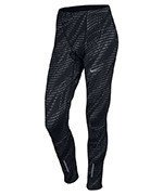 spodnie do biegania męskie NIKE POWER TECH TIGHT PRINTED / 800649-010