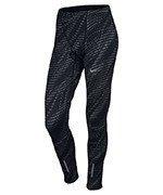 spodnie do biegania męskie NIKE POWER TECH TIGHT PRINTED / 800649-010