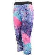 spodnie sportowe damskie 3/4 REEBOK ONE SERIES TREE CAPRI / AY4483